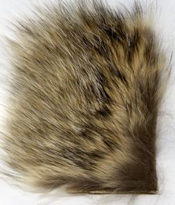 Badger fur piece/Grevling