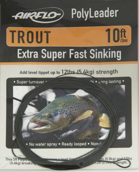 Airflo Polyleader Trout 10ft
