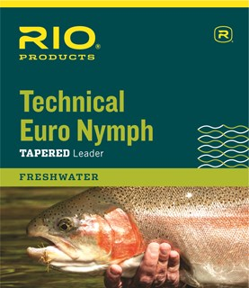 Rio Technical Euro Nymph Leader 2X/4X