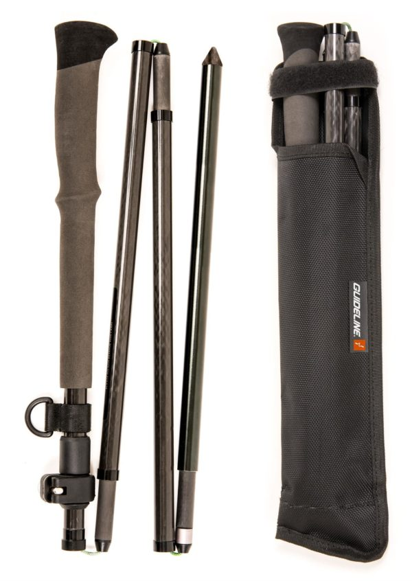Guideline Carbon Wading Staff