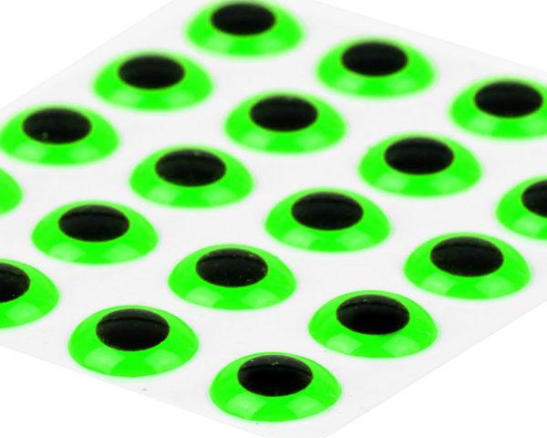 Epoxy 3 D Eyes Fluo